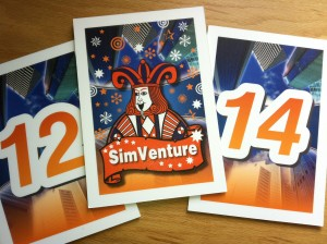 Cards used for 'SimVenture Play your Cards Right'