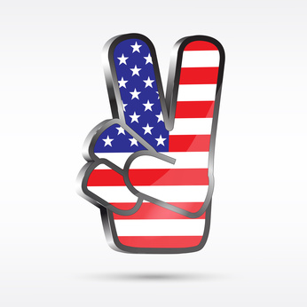 USA Finger Victory
